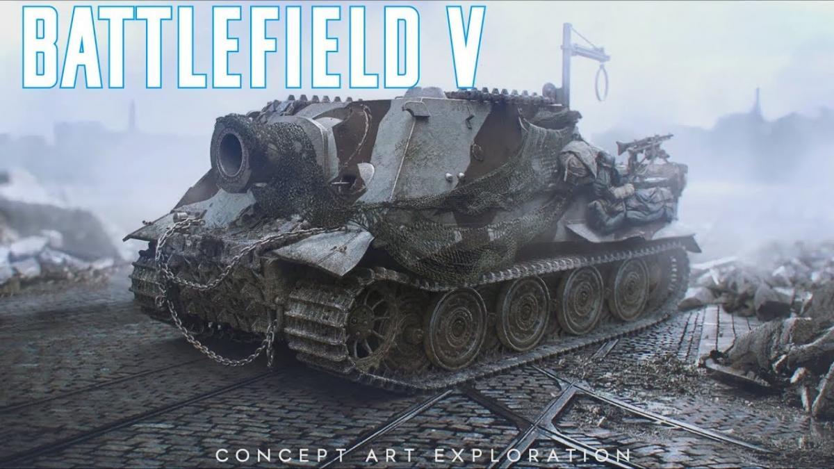 Battlefield 5 tanks off topic world of tanks official - Battlefield v concept art wallpaper ...