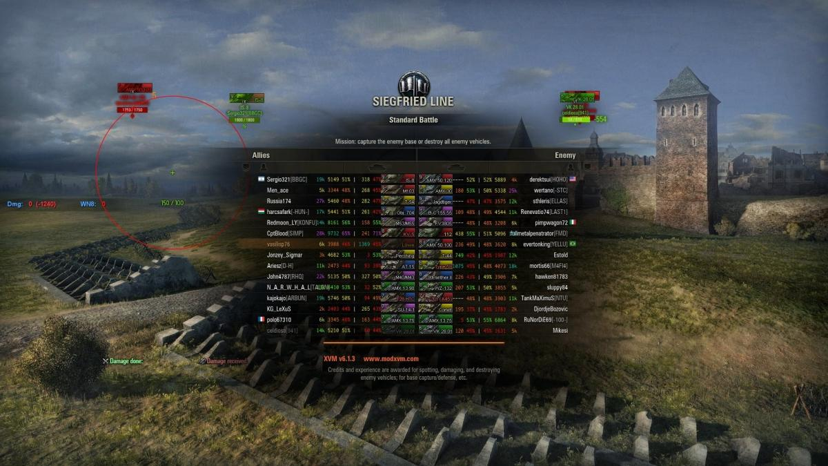 wot arty mod freezing my game after battle