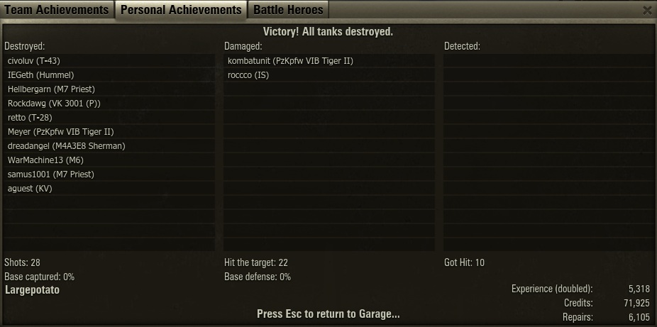 Premium matchmaking world of tanks