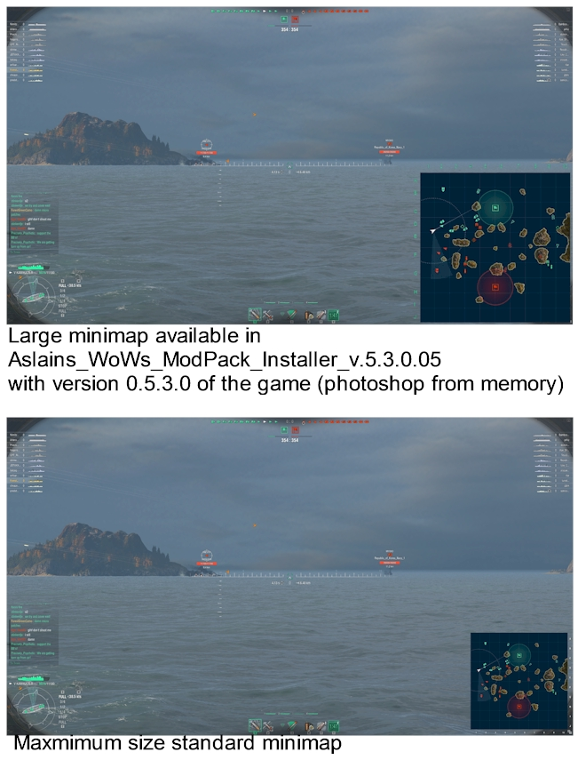 how to download aslains mod wows